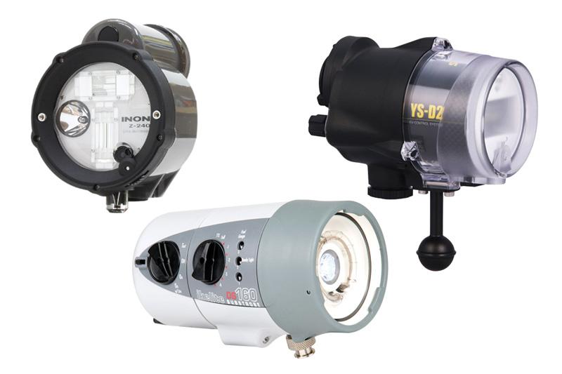 Camera Strobe Light : Underwater strobe guide photography