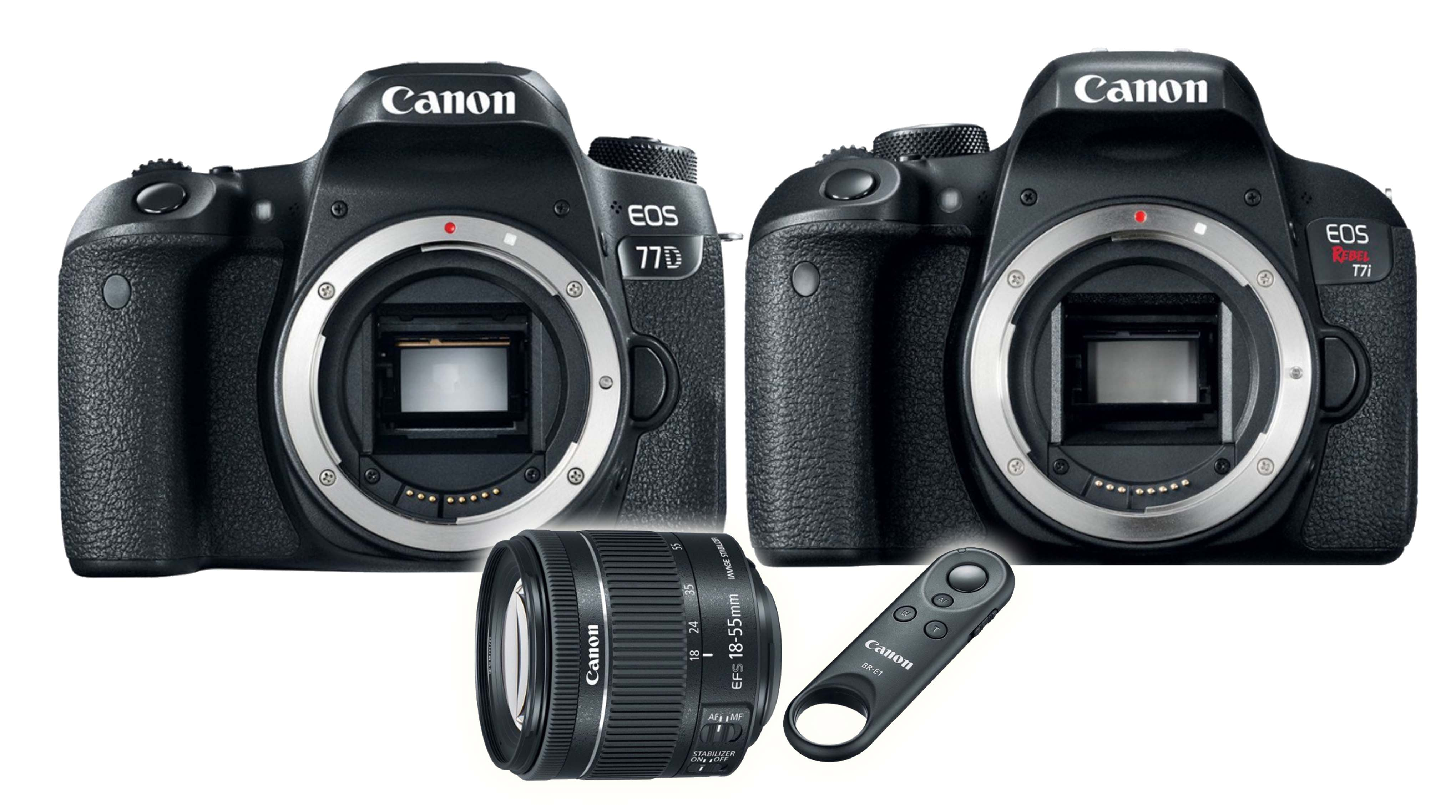 Canon Announces Two New Cameras, Lens and a Bluetooth Remote