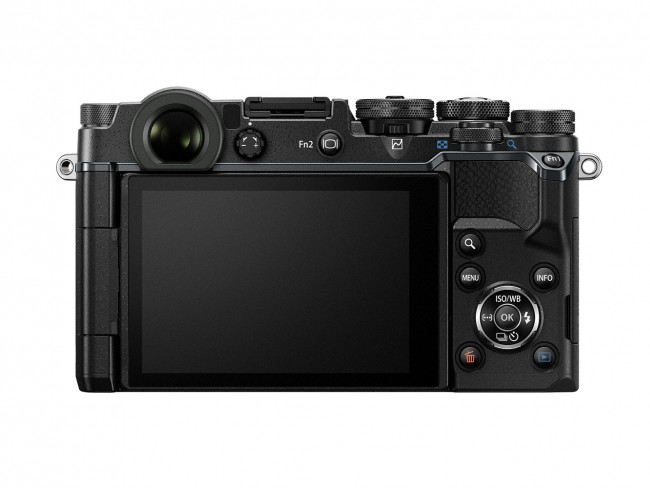 Olympus PEN-F Review: Back view